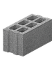 Блок бетонный стеновой 400*200*200