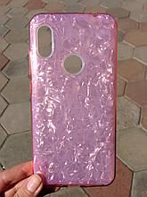Чохол для Xiaomi Redmi Note 6 Pink Broken Glass