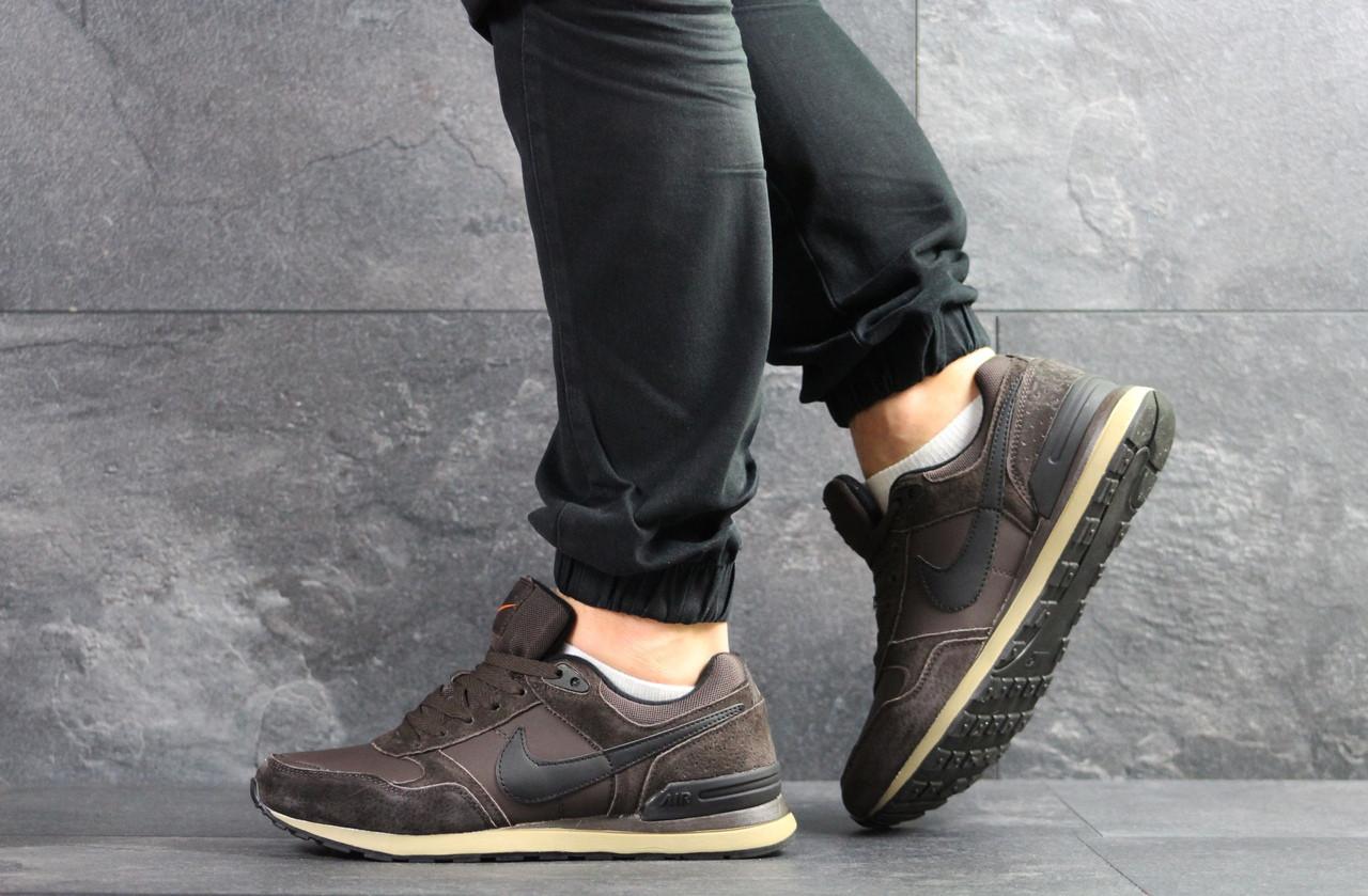Мужские кроссовки Nike (коричневые)