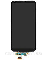 Дисплей (экран) для LG H870 G6, H871, H87, H873, LS993, US997, VS998 + тачскрин, черный, оригинал