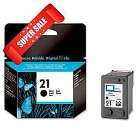 Картридж HP 21 C9351AE для принтера DeskJet 3920, 3940, D1360, D1460, D2360, D2400, D2460, F2180, F2187, F380, F4172, F4180, F4190, OfficeJet 4315,