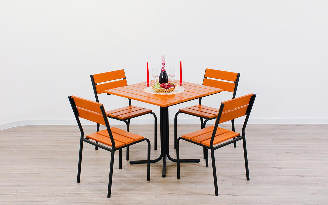 "Комплект мебели для кафе Микс-Лайн ""Рио"" Тик"