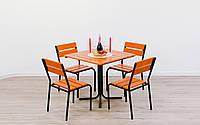 """Комплект мебели для кафе Микс-Лайн """"Рио"""" Тик, фото 1"""