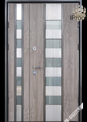 Двері вхідні вуличні STRAJ (Страж) Стрим Double SL Standart Plus, з нержавіючим порогом