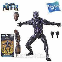 Фигурка Черная Пантера Вибраниум Legends серия Mbaku Black Panther Hasbro E5786