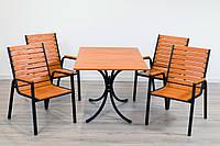 """Комплект мебели для кафе Микс-Лайн """"Таи"""" Тик"""