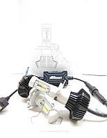 Aвтолампы LED G7, H4, 5000K, 8000LM, 50W, LUXEON ZES, теплый белый