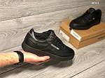 Мужские кроссовки Reebok (Черные) , фото 3