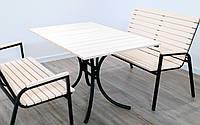 """Комплект мебели для кафе Микс-Лайн """"Таи"""" Слоновая кость"""