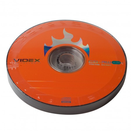 Videx CD-RW 700 Mb 4-10x bulk 10