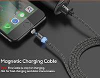 Магнитный  переходник для зарядки с micro USB, адаптер, кабель питания