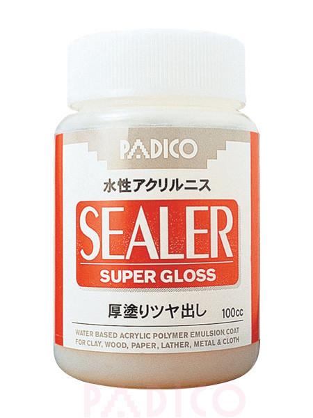 Лак універсальний суперміцна фініш глянець Padico Sealer (Японія)(пробник 10 мл),акриловий,на водній основі