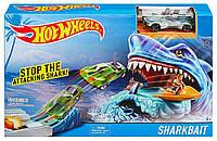 Трек с акулой Hot Wheels Sharkbait. Оригинал, фото 1