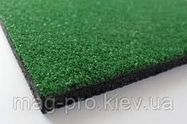 Резиновая плитка с искусственной травой 40мм (500х500мм), фото 2