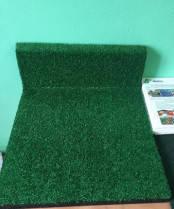 Резиновая плитка с искусственной травой 40мм (500х500мм), фото 3