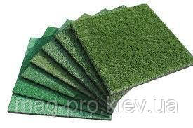 Резиновая плитка с искусственной травой 40мм (500х500мм)