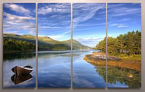 Модульная картина красивый пейзаж 120х60