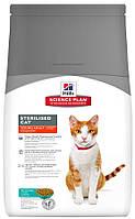 Корм с тунцом для стерилизованных кошек Hills Sterilised Cat Young Tuna