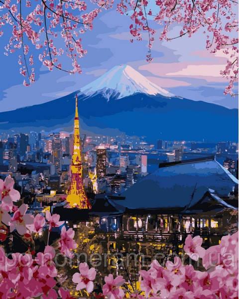 Картина по номерам Бебилон Япония заказать