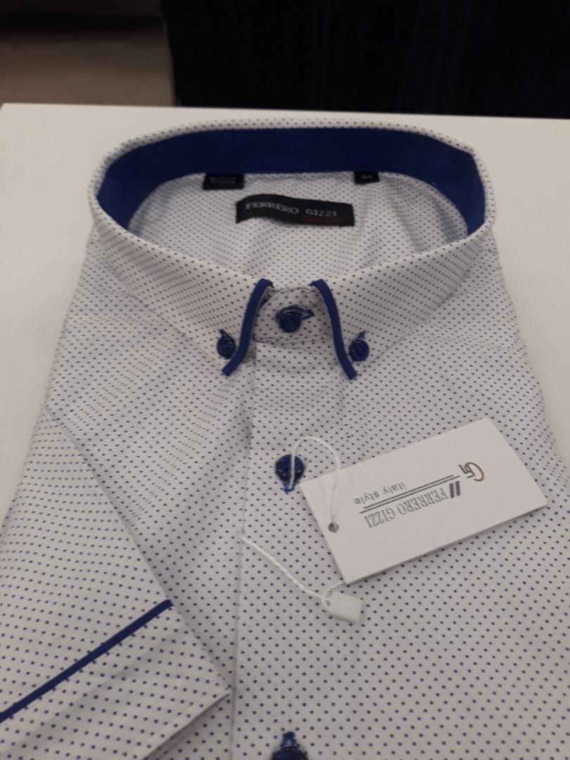 Мужская рубашка с коротким рукавом Ferrero Gizzi SKY 2171BK