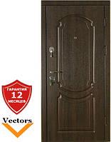 Very Dveri Классика темный орех (серия «ВИП+») Двери входные, фото 1