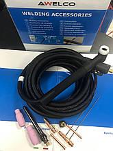 Горелка для аргоно-дуговой сварки Tig Torch AWELCO 96000 (Италия)