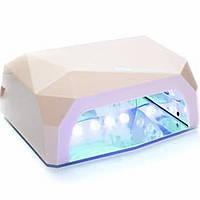Гибридная лампа для маникюра Diamond CCFL+LED 36W