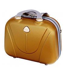 Сумка кейс саквояж RGL 882 небольшой размер. Разные цвета. Золотой