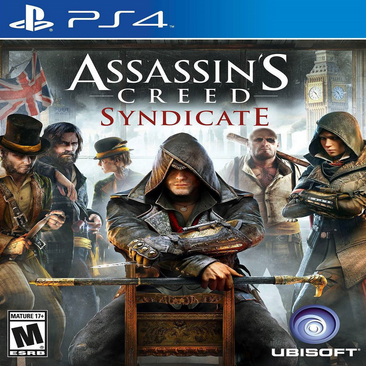 Assassin's Creed Syndicate ENG PS4 (Б/В)