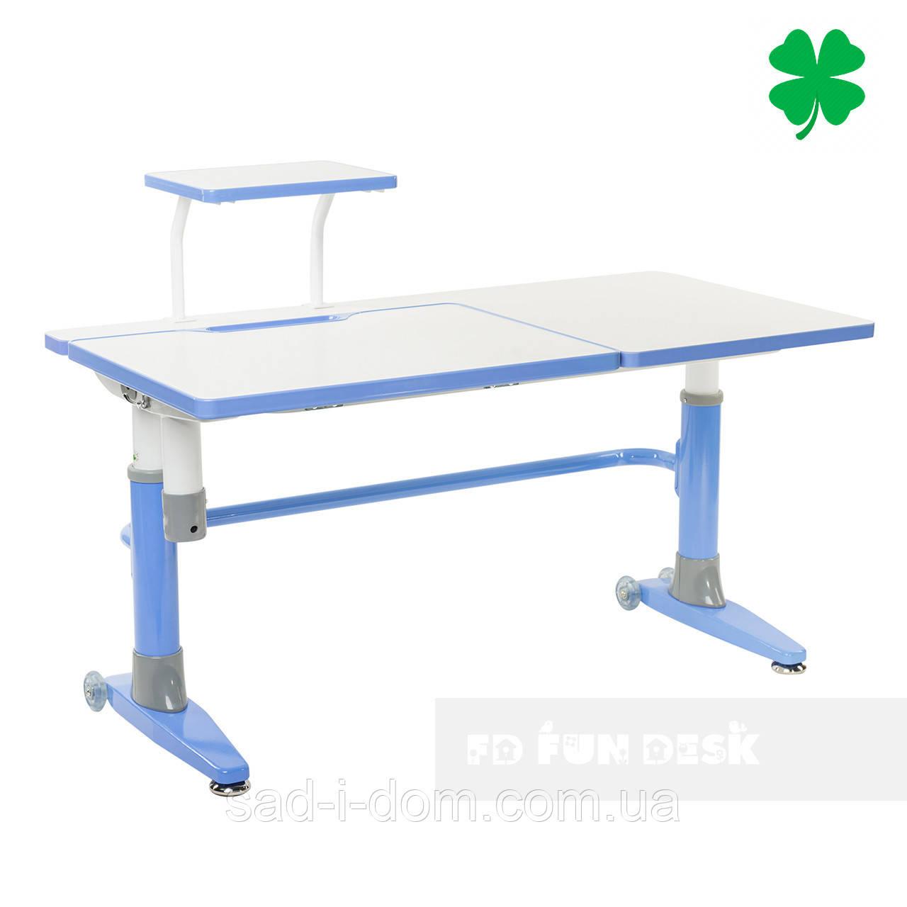 Парта-трансформер для школьника FunDesk Ballare, голубая