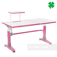 Парта-трансформер для школьника FunDesk Ballare, розовая, фото 1