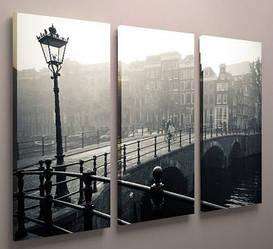 Картина модульная красивый пейзаж 90х60