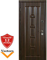 Very Dveri Турин темный орех (серия «ВИП») Дверь входная