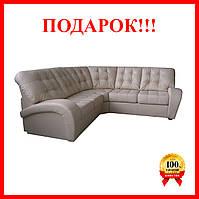 """Угловой диван из натуральной кожи """"Vincent"""", Винцент, фото 1"""