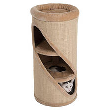Когтеточка и домик для кота Basic Tower - 75 х 37 см, фото 3