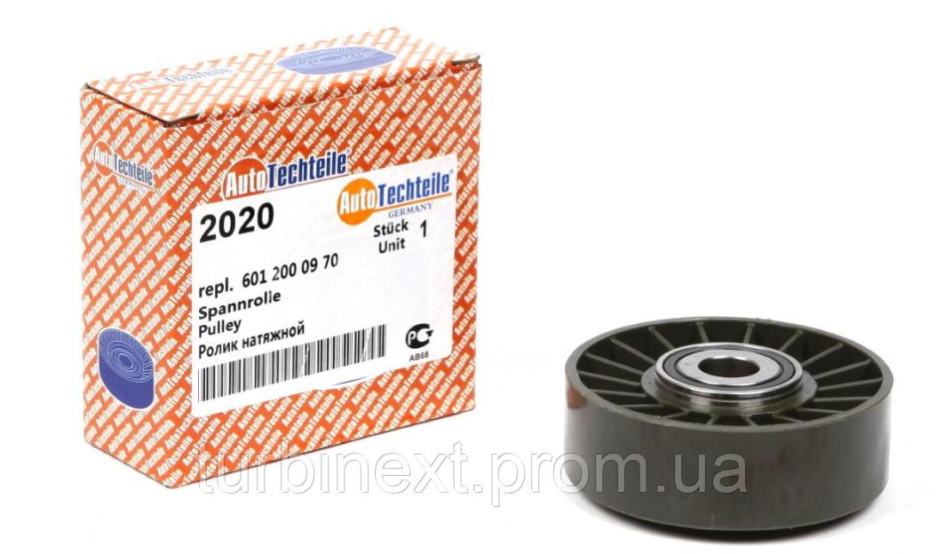 Ролик генератора MB OM601-603 (гладкий) (натяжной) AUTOTECHTEILE 100 2020