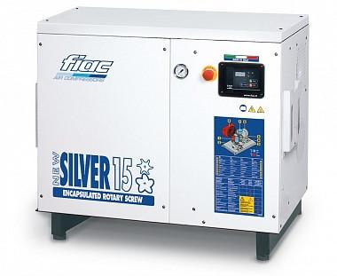 Компрессор винтовой NEW SILVER 15 / (10 БАР-1430 л/мин) Fiac 1121680283 (Италия)
