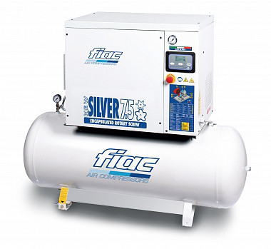 Компрессор винтовой NEW SILVER 15/500 / (10 БАР-1430 л/мин) Fiac 1121680902 (Италия)