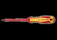 Отвертка диэлектрическая SQ2*150mm King Tony 14740206 (Тайвань)