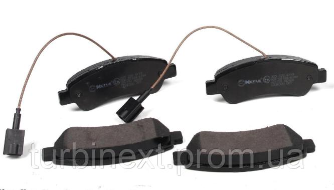 Колодки тормозные MEYLE 025 220 4119 (задние) Fiat Ducato/Peugeot Boxer 11- (137x48.7x18.8)