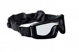 Очки тактические Bolle X810 (черные с прозрачными линзами)