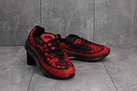Кроссовки В 359 -22 (Nike Air Max 98) (весна/осень, женские, резина, красный)