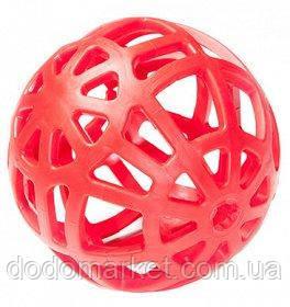 Мяч ажурный сетчатый для собак 14 см Sum-Plast