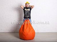 Кресло мешок груша   оранжевый Oxford