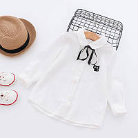 Модная рубашка для девочки 7346209-1, код (39436)