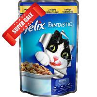 Влажный корм Purina Felix Fantastic с курицей в желе для кошек и котов 20 шт