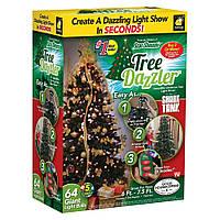 Электрическая LED гирлянда на Новый год  Tree Dazzler, новогодние украшения, , гірлянди, Гирлянды