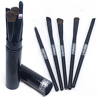 Набор кистей для визажистов в тубусе Permanent lash&brow