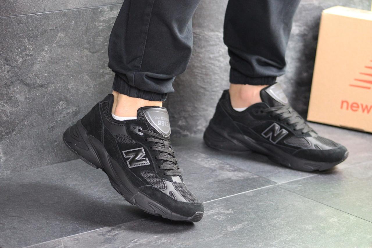 Мужские кроссовки New Balance 991.9 (черные)