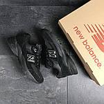 Мужские кроссовки New Balance 991.9 (черные), фото 6